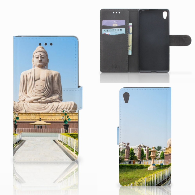 Sony Xperia E5 Flip Cover Boeddha