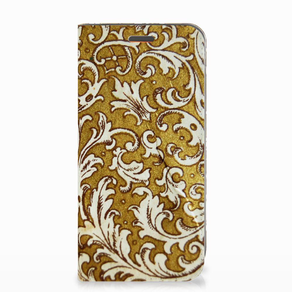 Telefoon Hoesje Motorola Moto E5 Play Barok Goud
