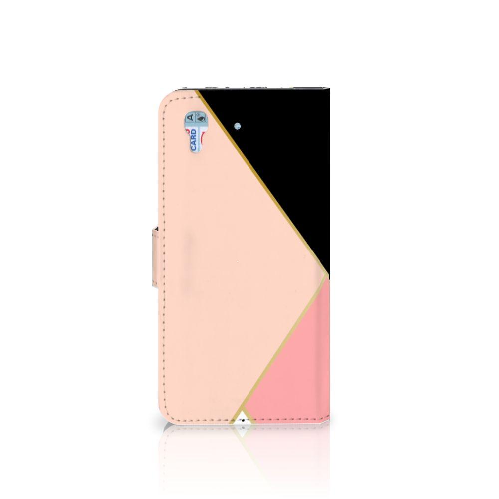 Honor 4A | Y6 Bookcase Zwart Roze Vormen