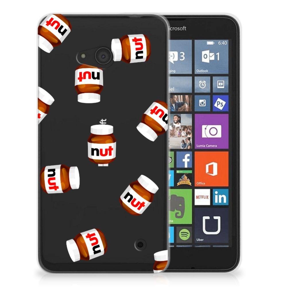Microsoft Lumia 640 Siliconen Case Nut Jar