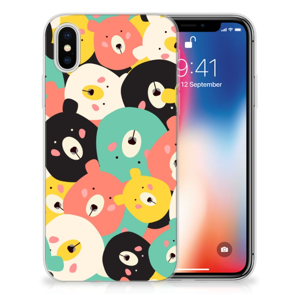 Apple iPhone X | Xs Uniek TPU Hoesje Bears