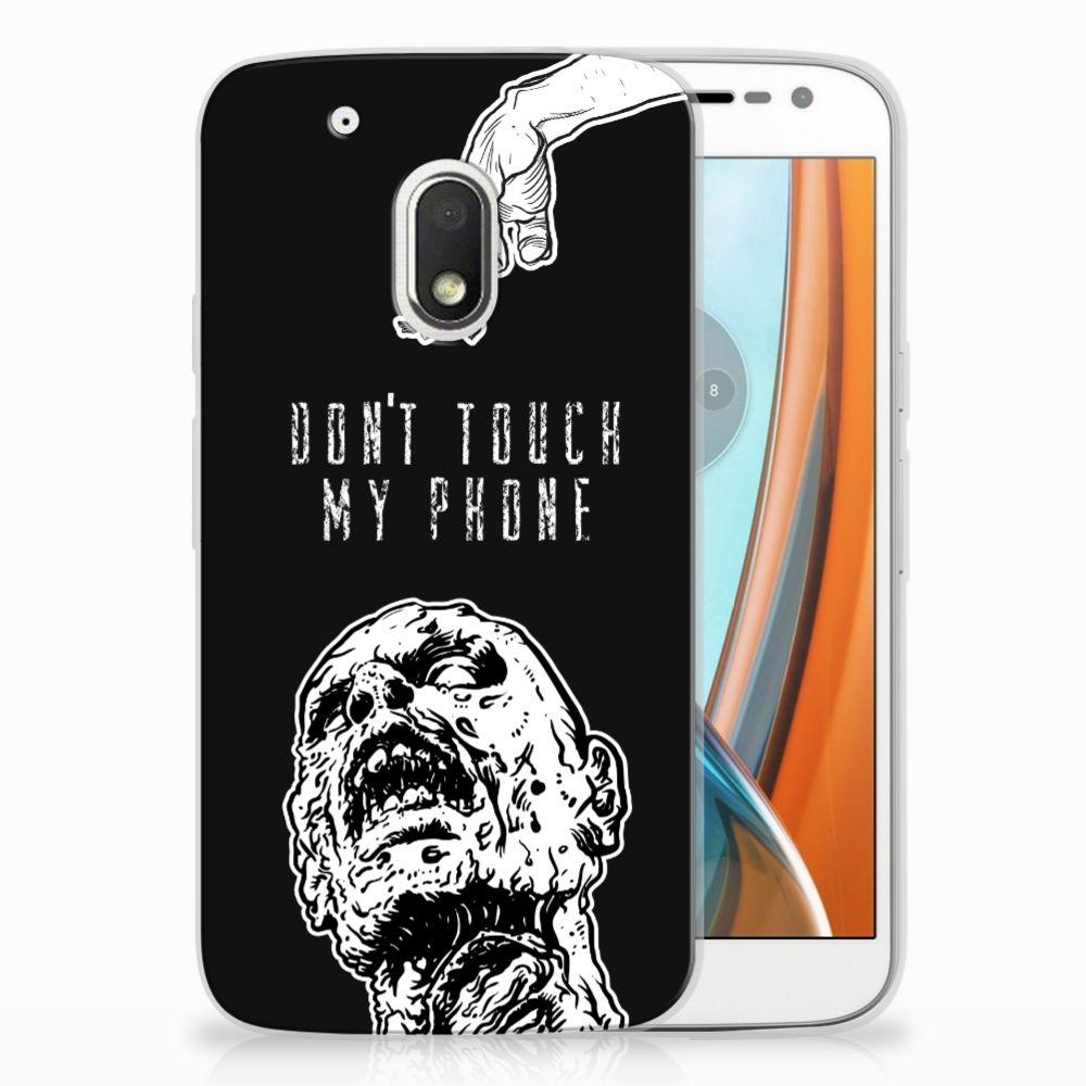 Motorola Moto G4 Play Uniek TPU Hoesje Zombie