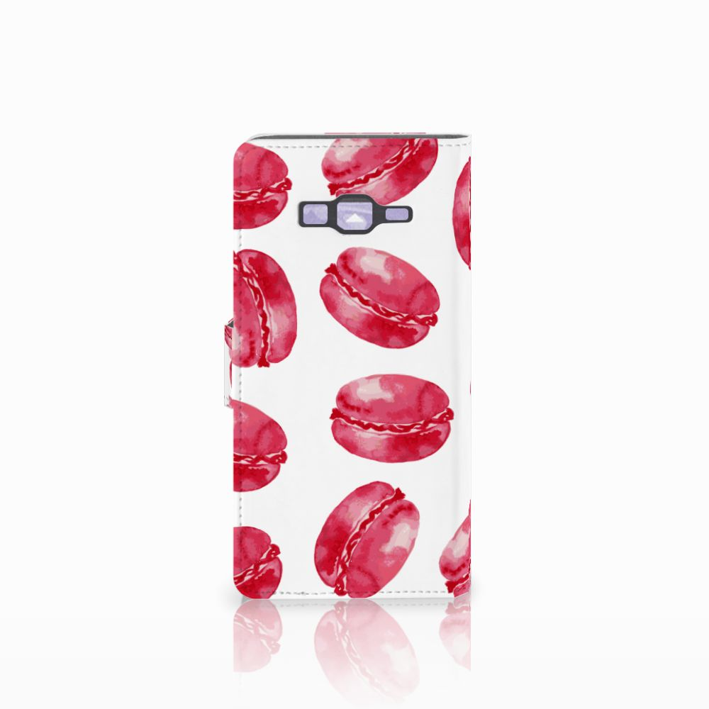 Samsung Galaxy Grand Prime | Grand Prime VE G531F Book Cover Pink Macarons