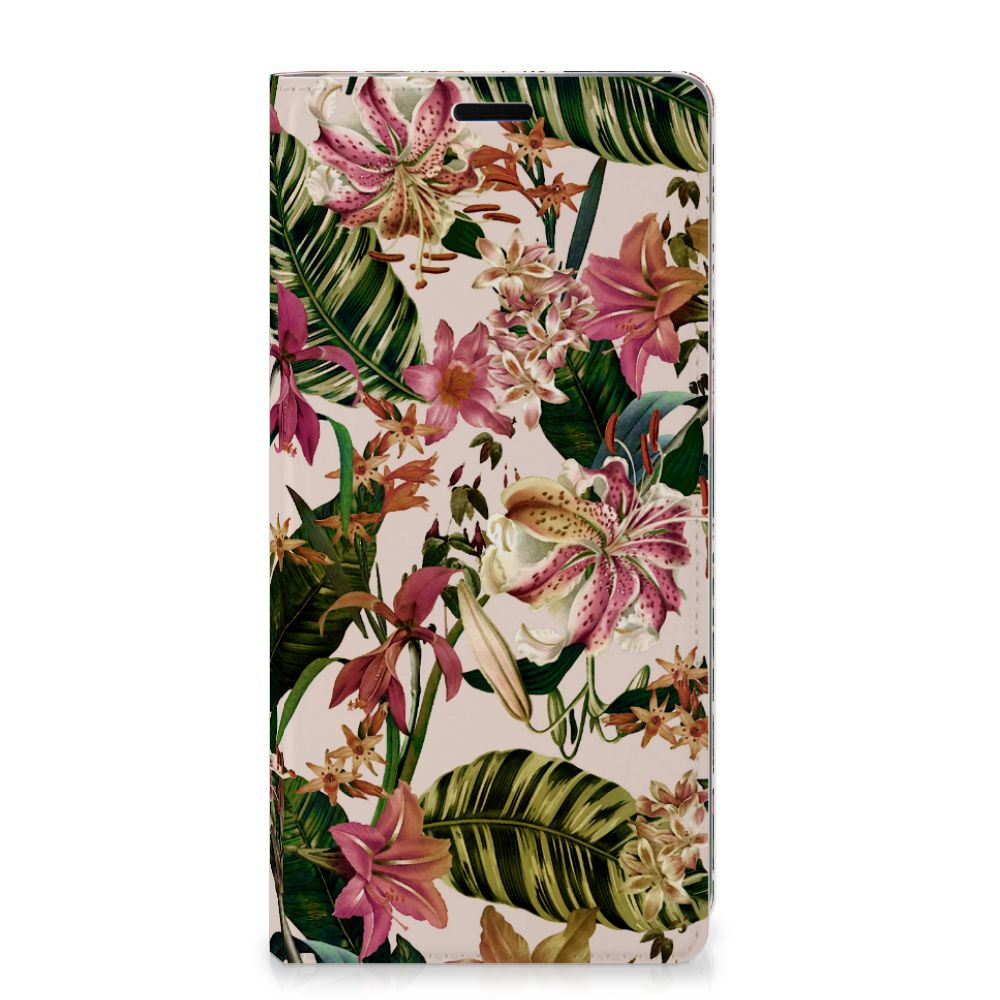 Samsung Galaxy A9 (2018) Smart Cover Flowers