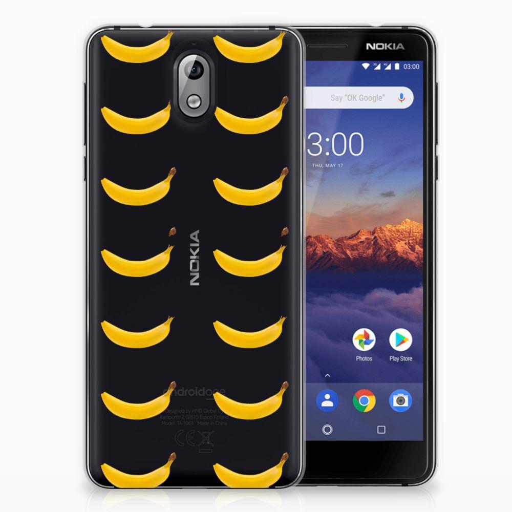 Nokia 3.1 (2018) Siliconen Case Banana
