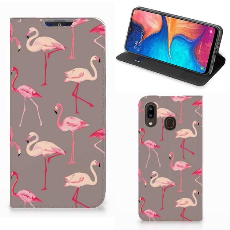 Samsung Galaxy A30 Hoesje maken Flamingo