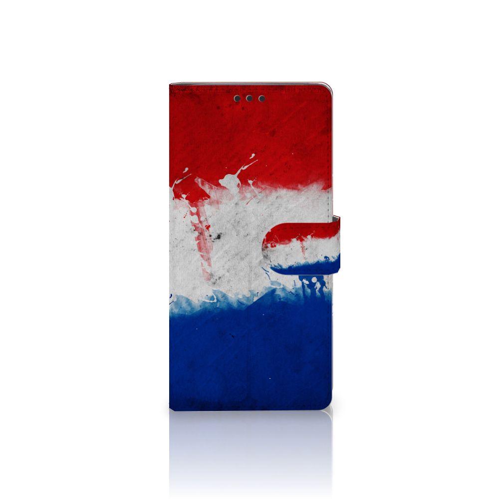 Sony Xperia XA Ultra Bookstyle Case Nederlandse Vlag