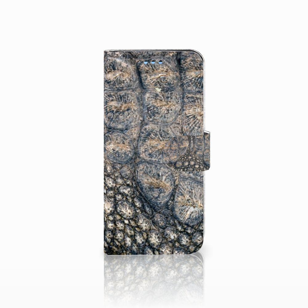Samsung Galaxy S9 Uniek Boekhoesje Krokodillenprint