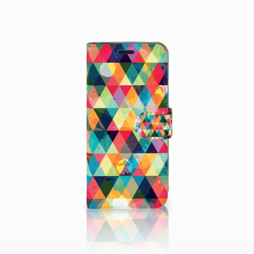 Acer Liquid Z630 | Z630s Uniek Boekhoesje Geruit
