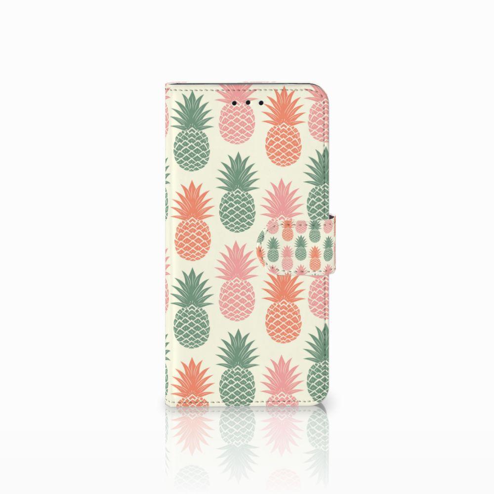 Motorola Moto E5 Boekhoesje Design Ananas