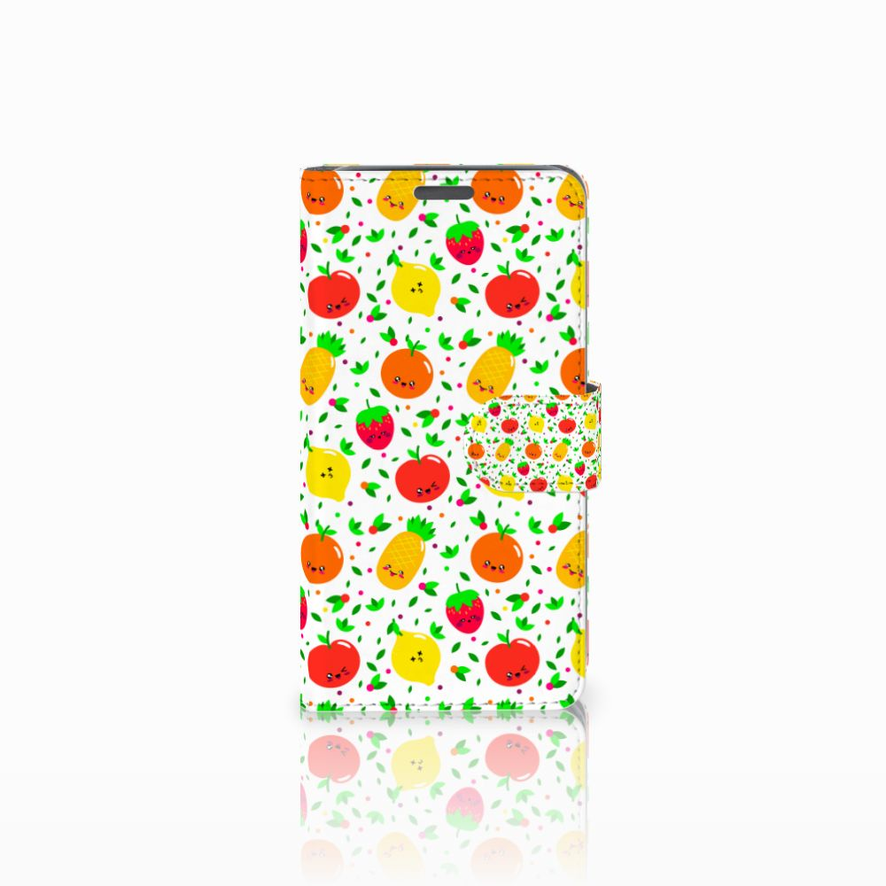 Wiko Lenny Boekhoesje Design Fruits