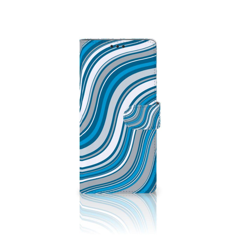 Sony Xperia XA Ultra Boekhoesje Design Waves Blue