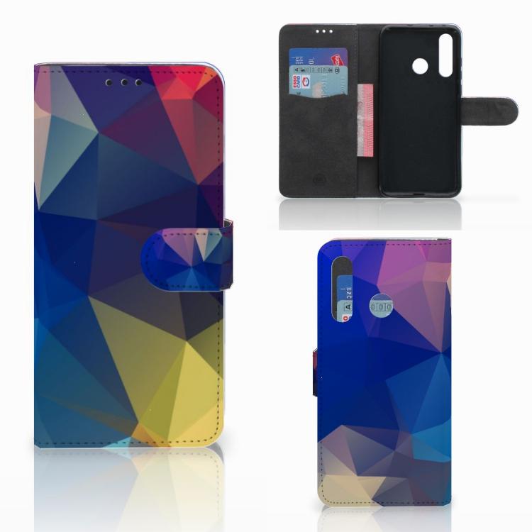 Huawei Nova 4 Bookcase Polygon Dark