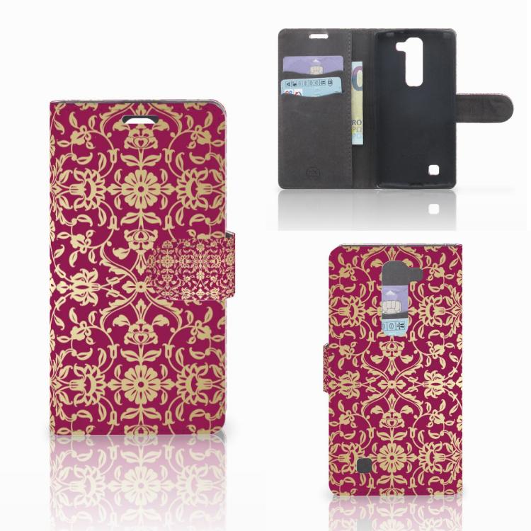 Wallet Case LG Magna | G4C Barok Pink