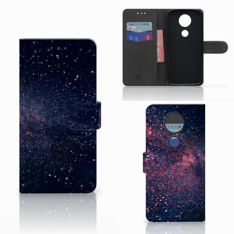 Motorola Moto E5 Plus Bookcase Stars