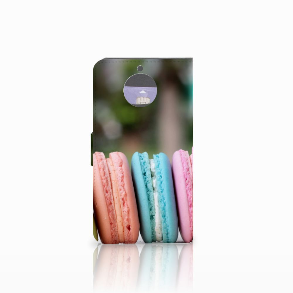 Motorola Moto G5S Plus Book Cover Macarons