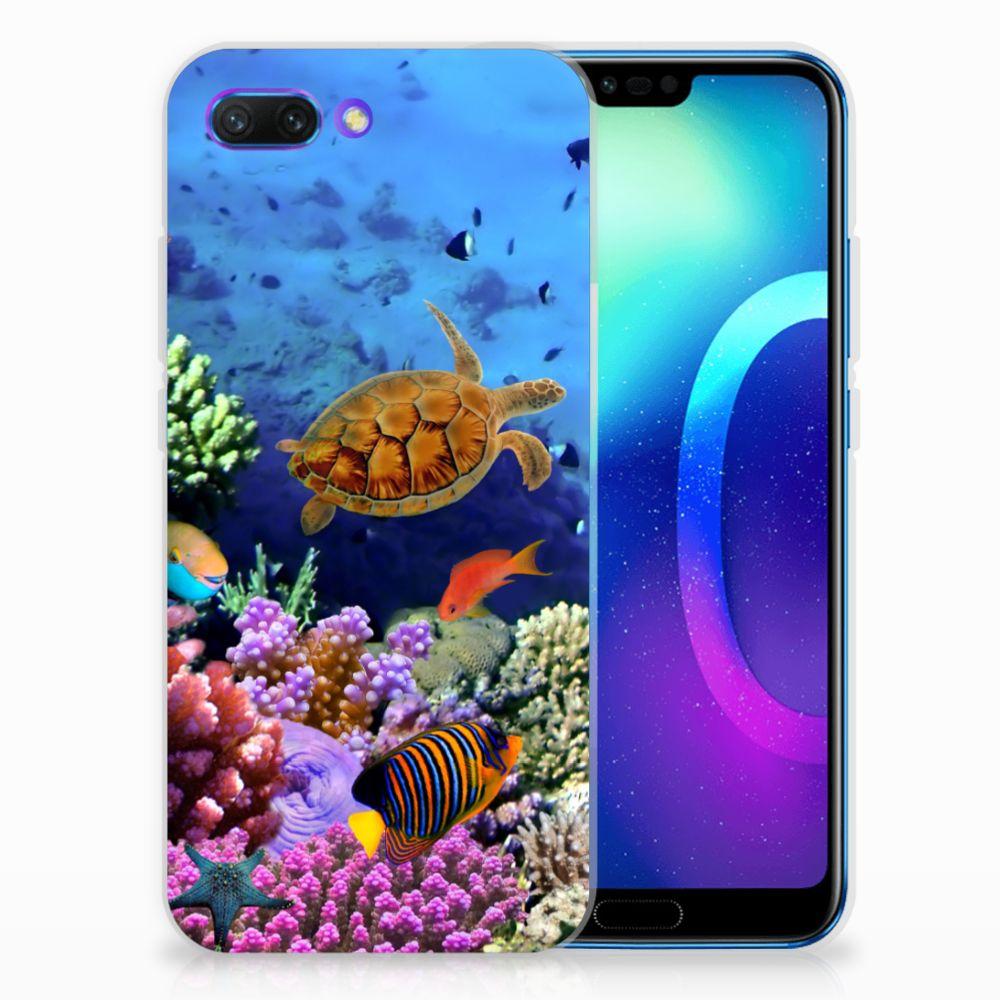 Huawei Honor 10 TPU Hoesje Design Vissen