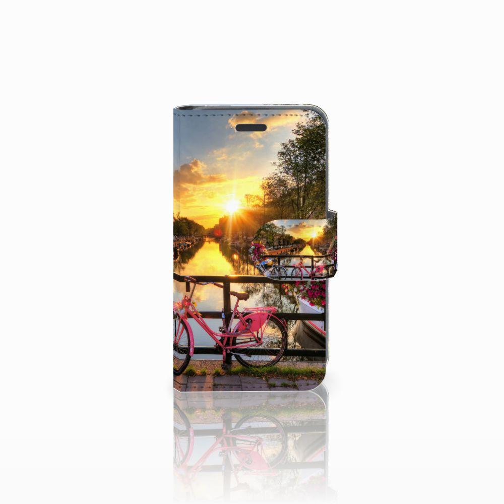 Nokia Lumia 520 Uniek Boekhoesje Amsterdamse Grachten