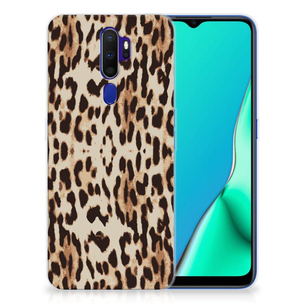 OPPO A9 2020 TPU Hoesje Leopard