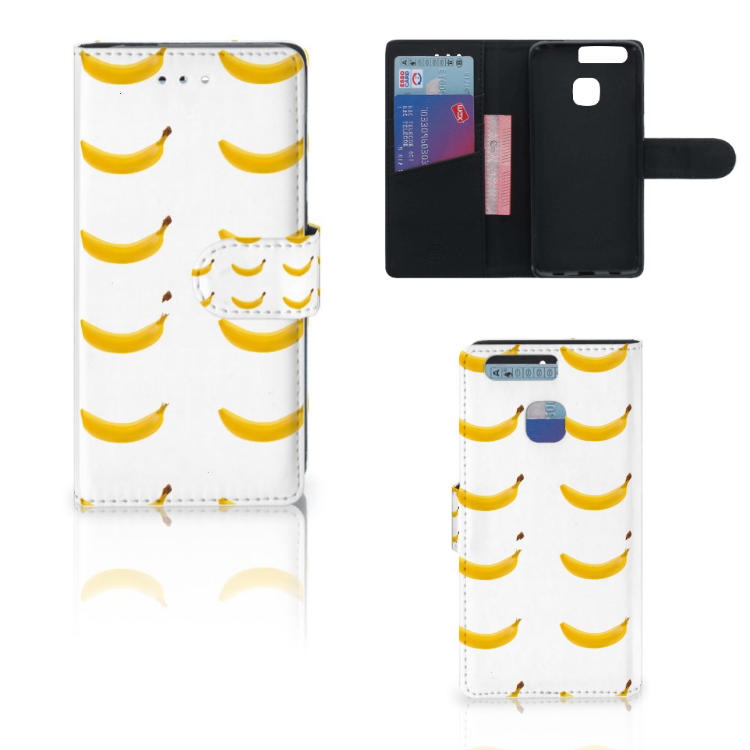 Huawei P9 Book Cover Banana