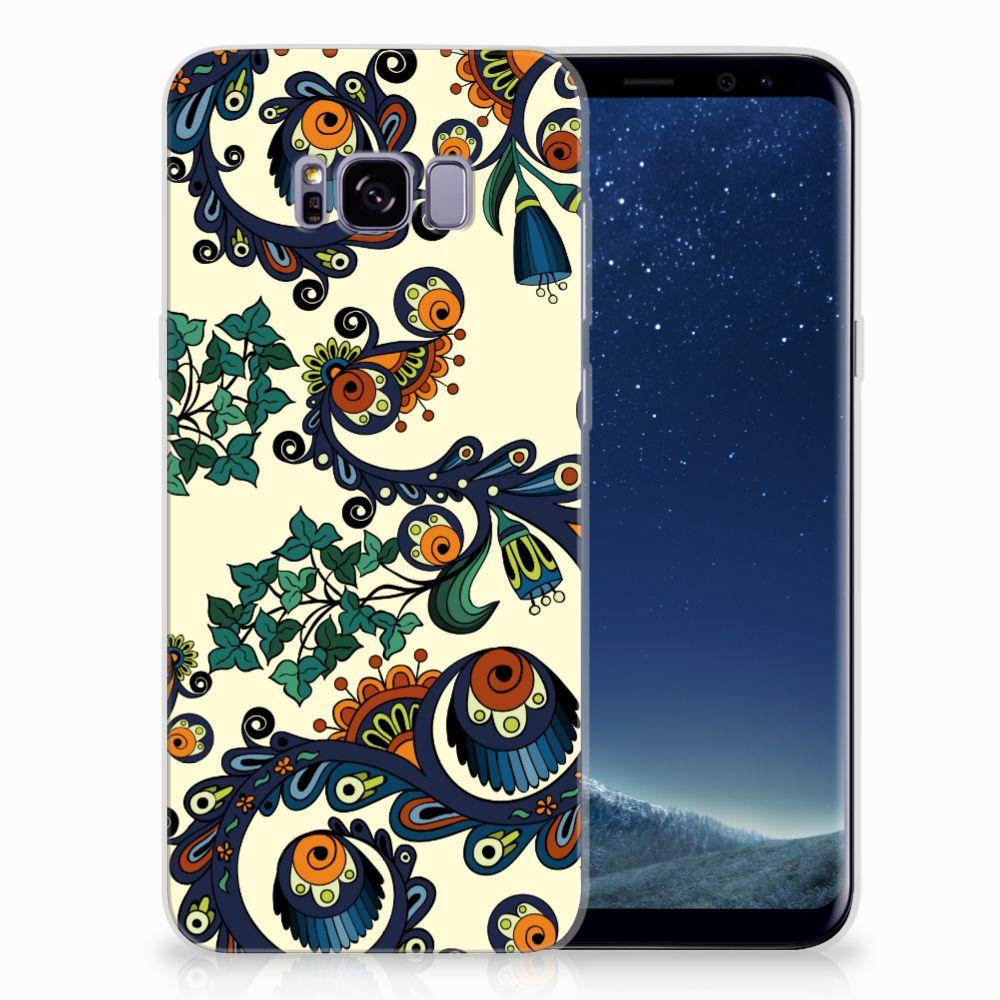 Samsung Galaxy S8 Plus TPU Hoesje Design Barok Flower