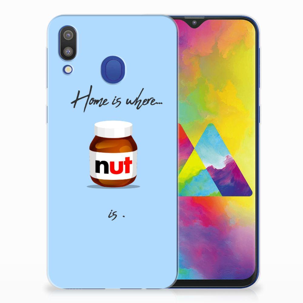 Samsung Galaxy M20 (Power) Siliconen Case Nut Home