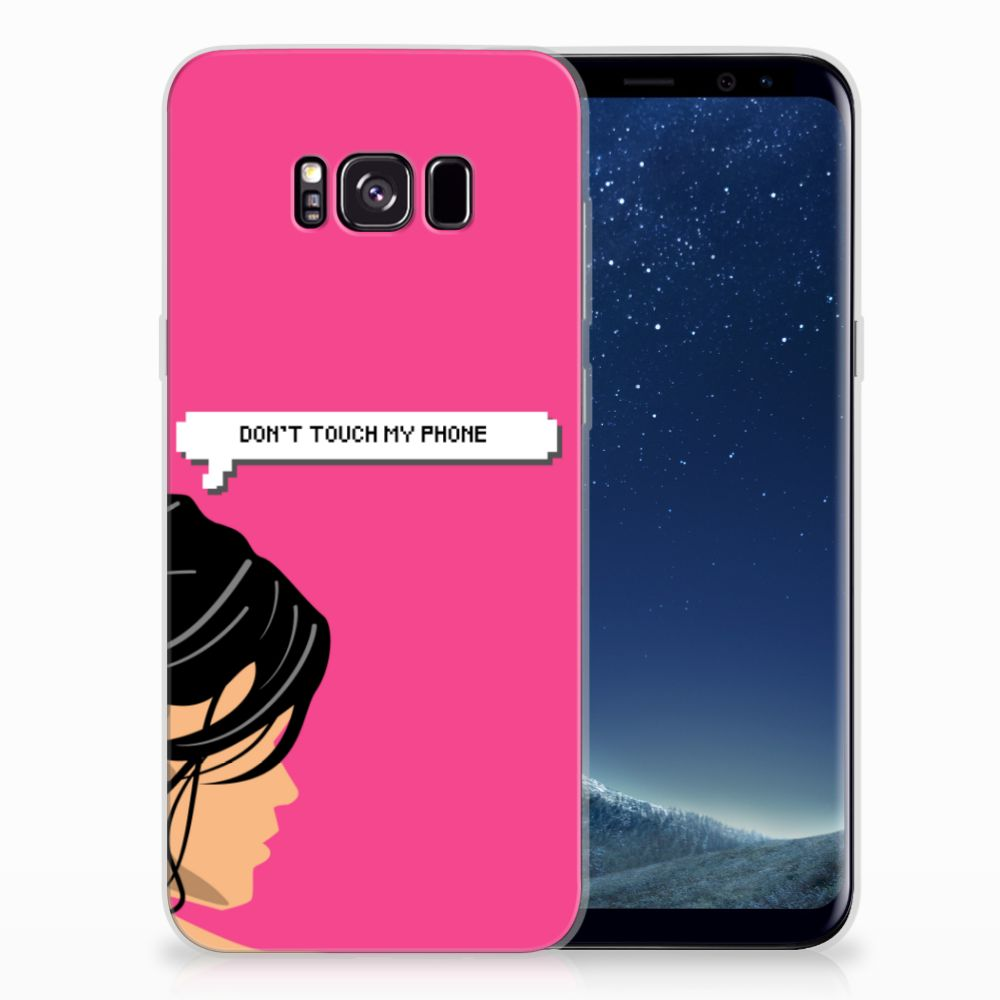 Samsung Galaxy S8 Plus Silicone-hoesje Woman DTMP