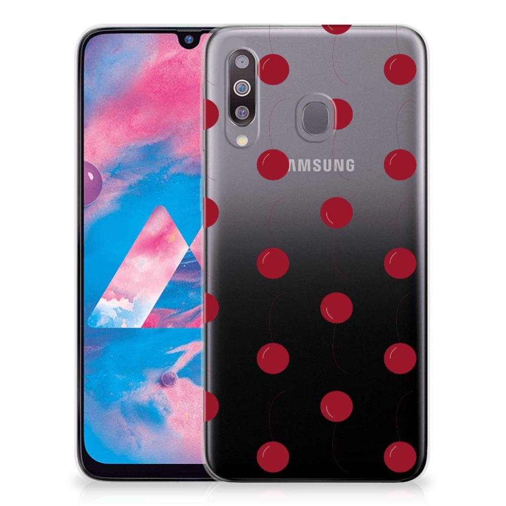 Samsung Galaxy M30 Siliconen Case Cherries