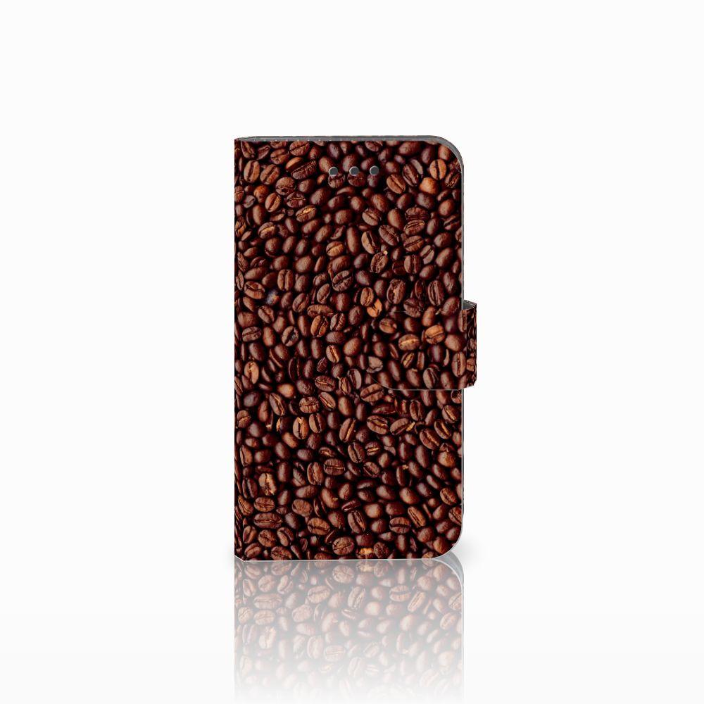 Samsung Galaxy Xcover 3 | Xcover 3 VE Uniek Boekhoesje Koffiebonen