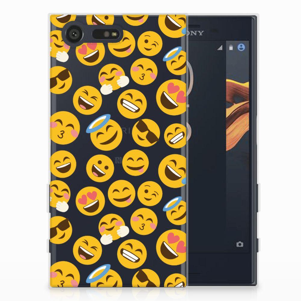 Sony Xperia X Compact TPU Hoesje Design Emoji