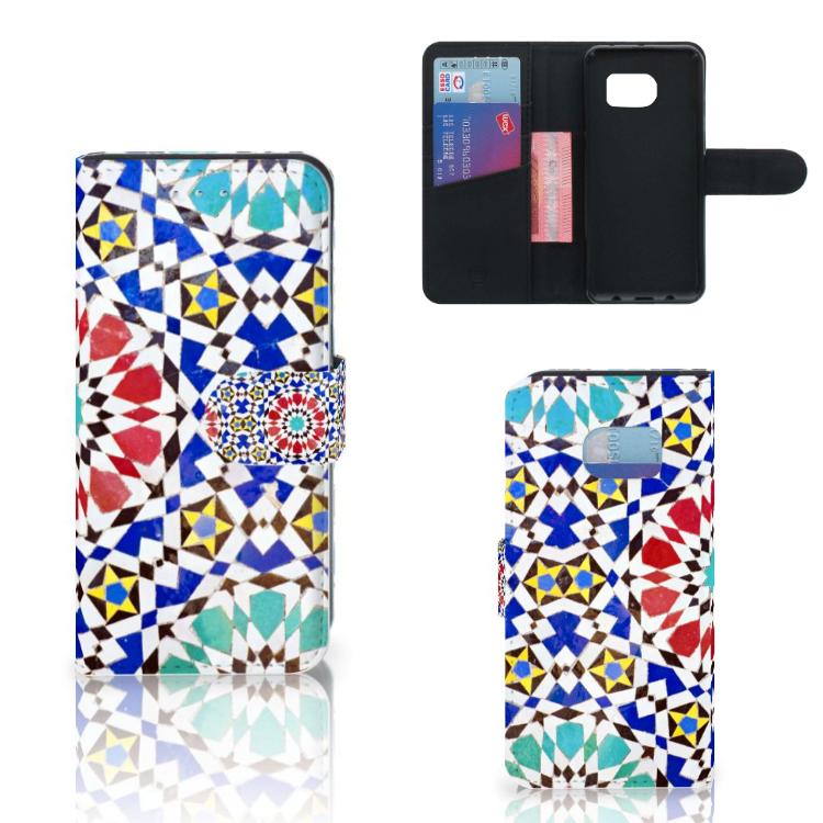 Samsung Galaxy S6 Edge SM-G925F Uniek Hoesje Mozaïek