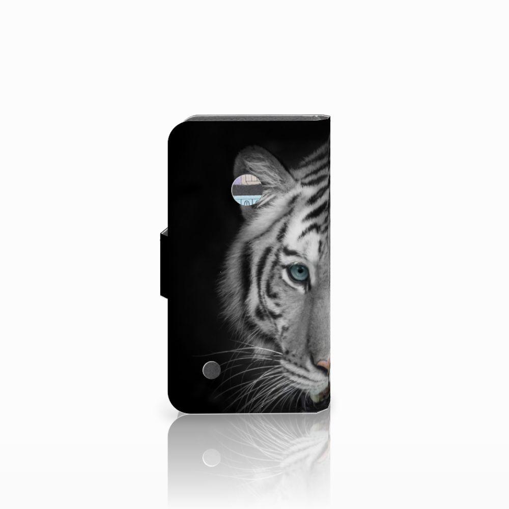 Nokia Lumia 530 Telefoonhoesje met Pasjes Tijger