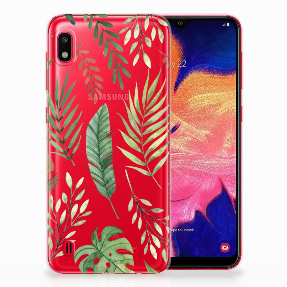 Samsung Galaxy A10 TPU Case Leaves