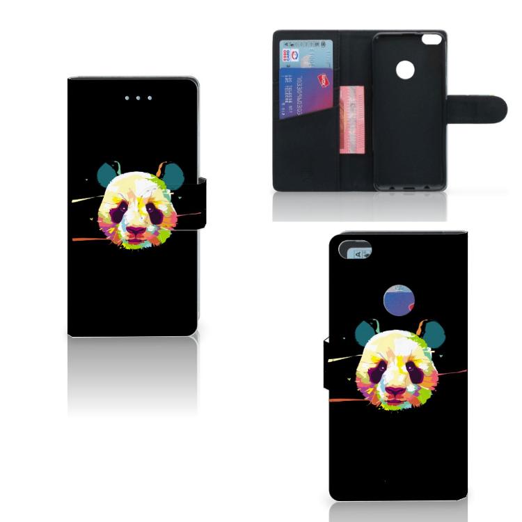 Huawei P8 Lite 2017 Leuk Hoesje Panda Color