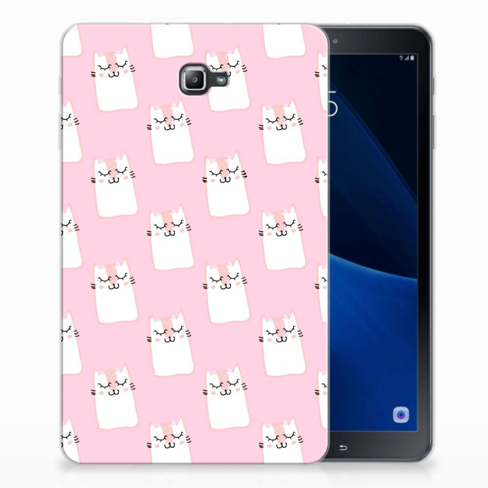Samsung Galaxy Tab A 10.1 Back Case Sleeping Cats