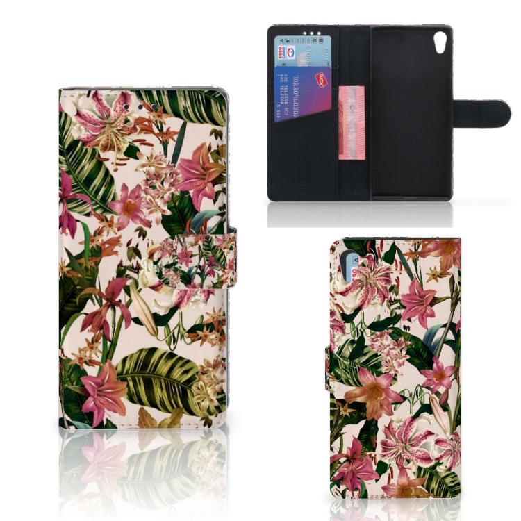 Sony Xperia XA1 Ultra Hoesje Flowers