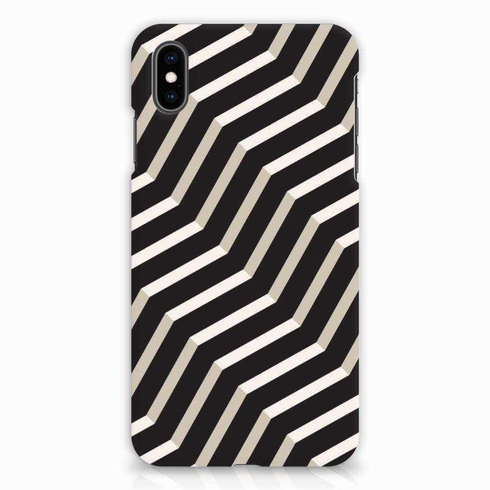 Apple iPhone Xs Max Rubber Case Illusion
