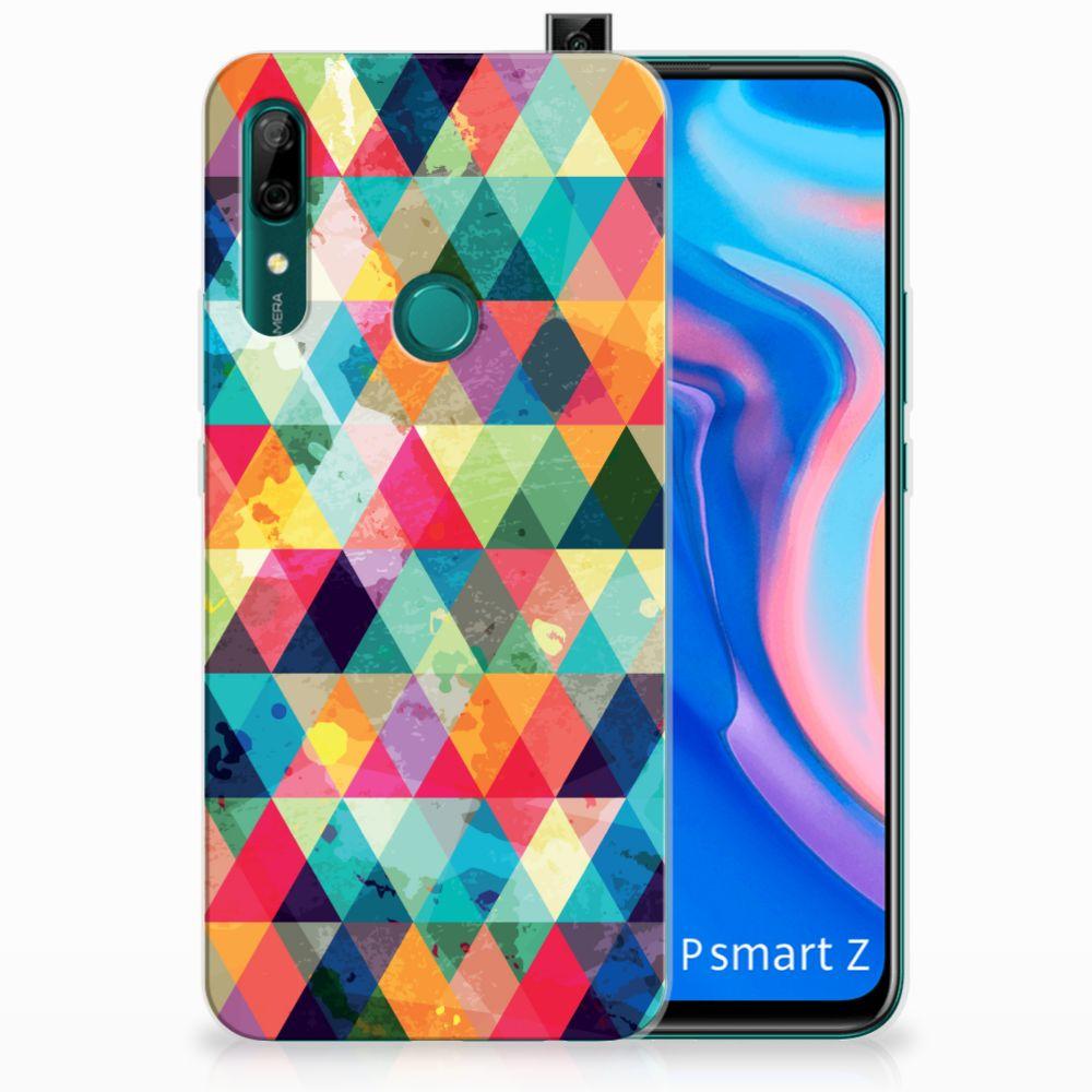 Huawei P Smart Z TPU bumper Geruit