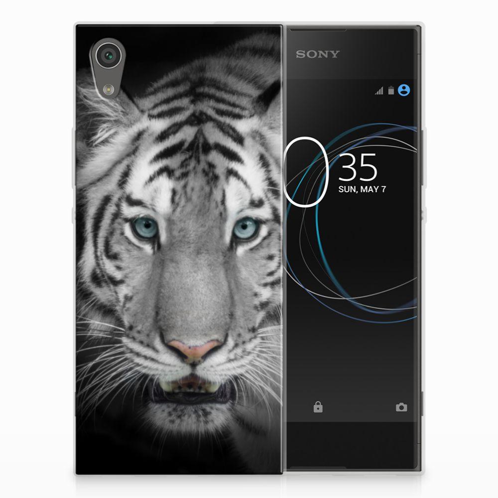 Sony Xperia XA1 Uniek TPU Hoesje Tijger