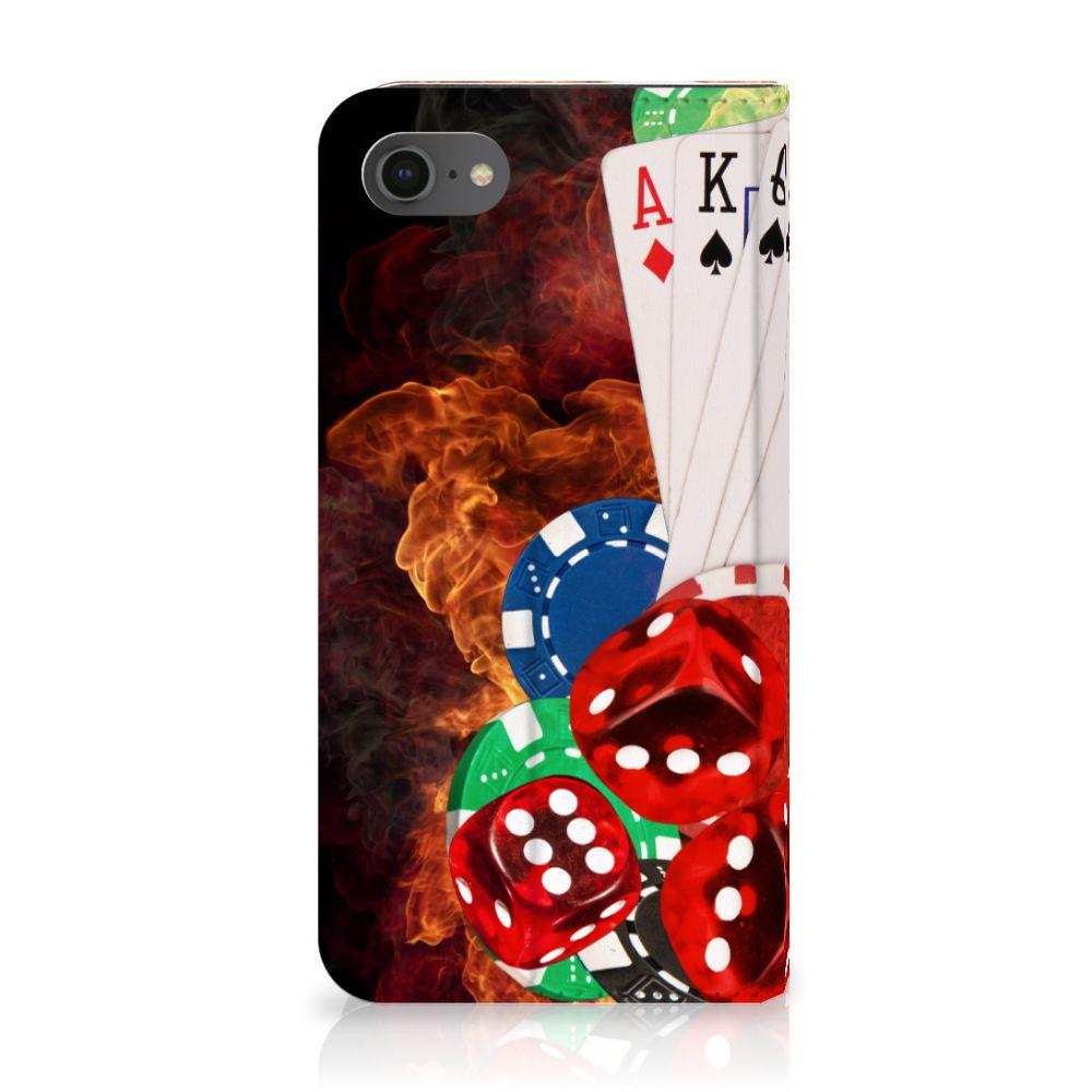 Apple iPhone 7 | 8 Uniek Standcase Hoesje Casino