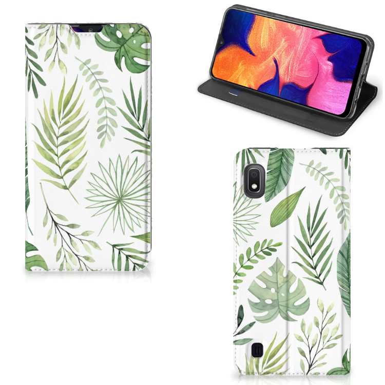 Samsung Galaxy A10 Smart Cover Leaves