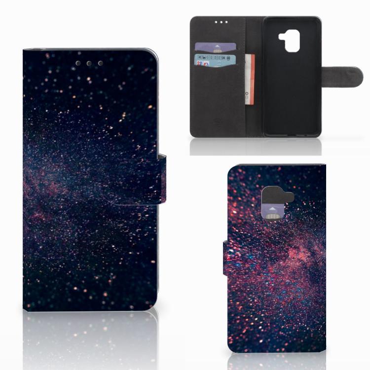 Samsung Galaxy A8 2018 Bookcase Stars