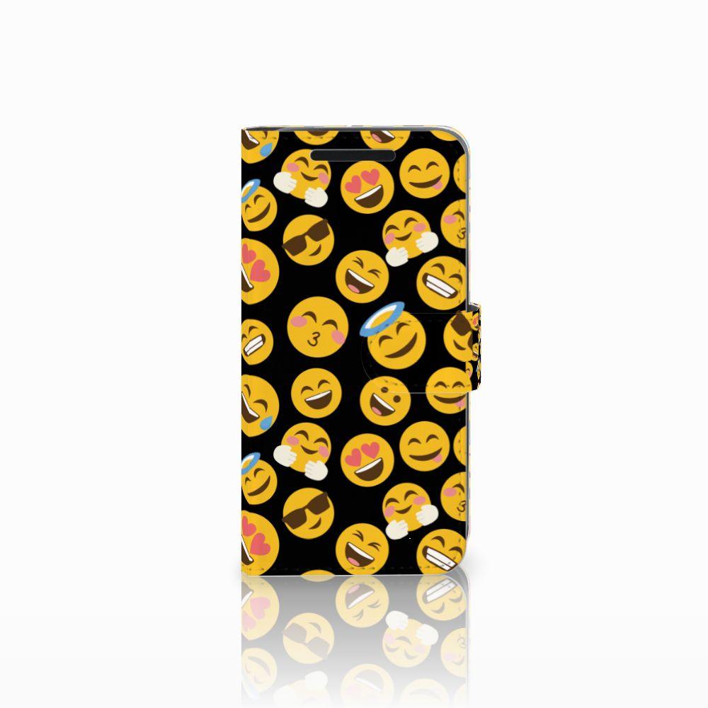 HTC One M9 Telefoon Hoesje Emoji