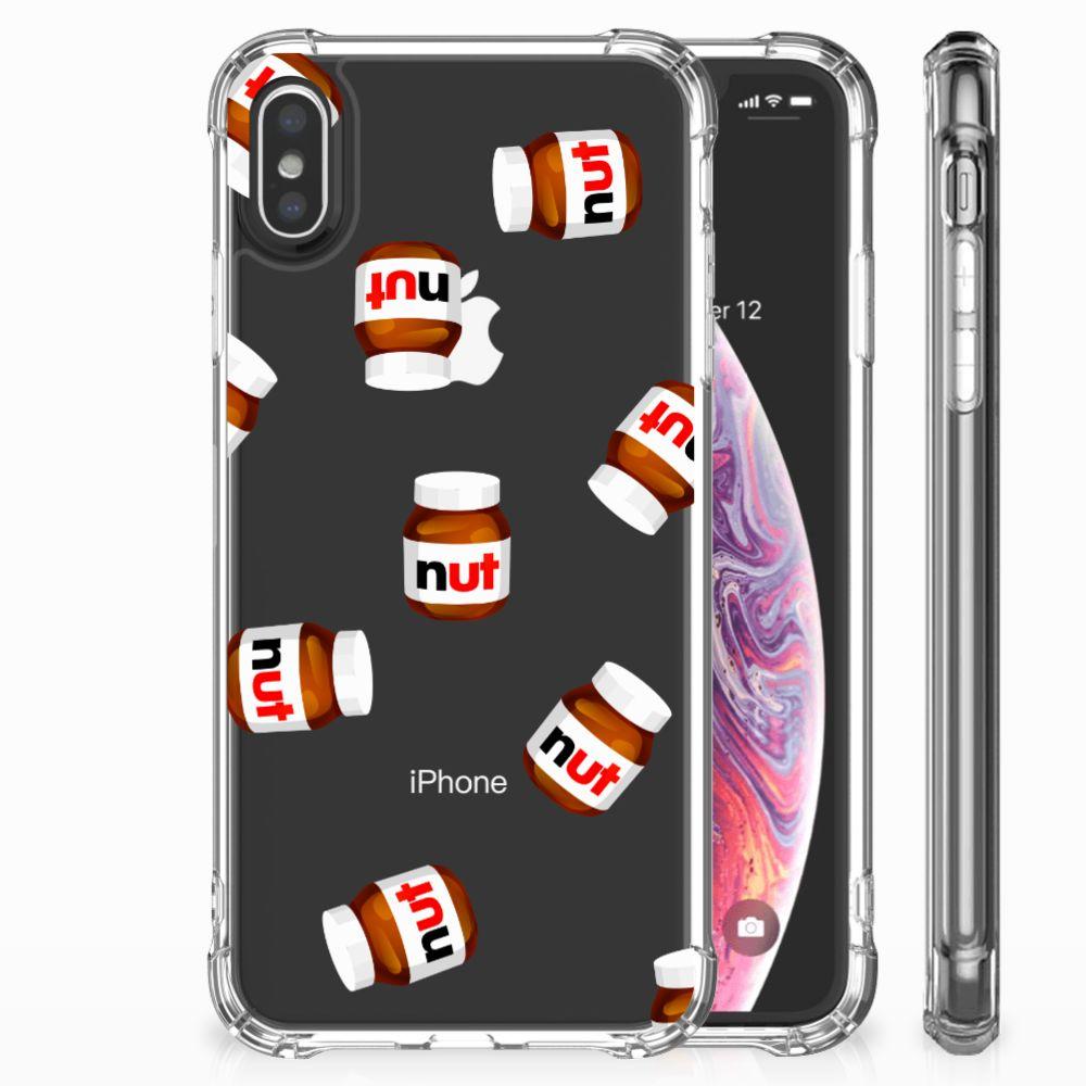Apple iPhone Xs Max Beschermhoes Nut Jar