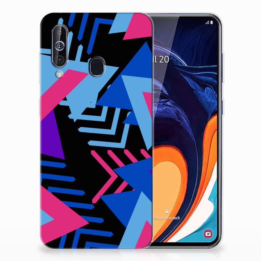 Samsung Galaxy A60 TPU Hoesje Funky Triangle