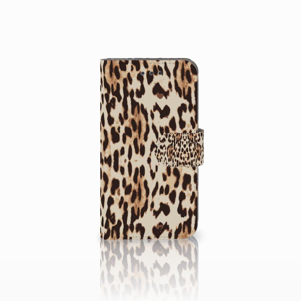 Samsung Galaxy Xcover 3 | Xcover 3 VE Uniek Boekhoesje Leopard