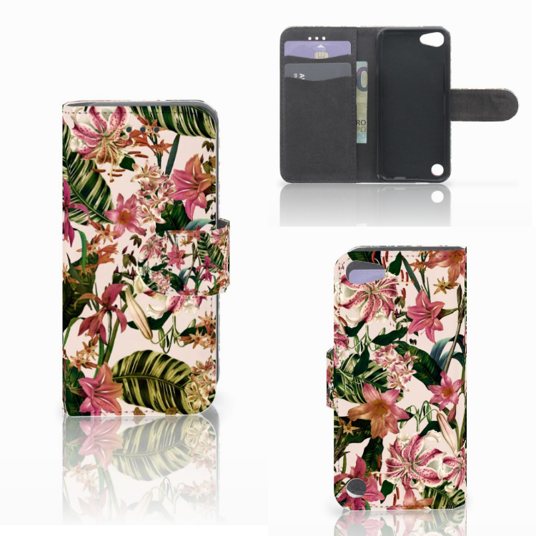 Apple iPod Touch 5 | 6 | iPod (2019) Hoesje Flowers