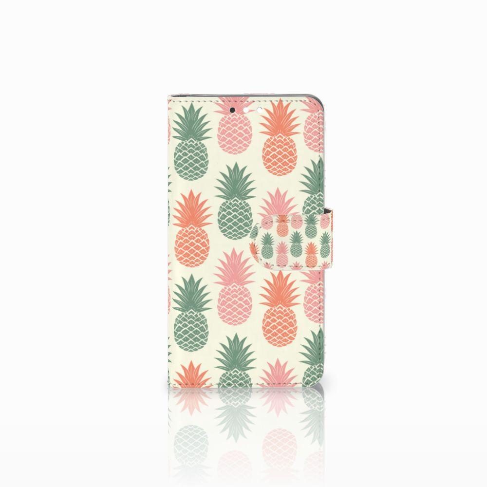 Nokia 8 Sirocco | Nokia 9 Boekhoesje Design Ananas