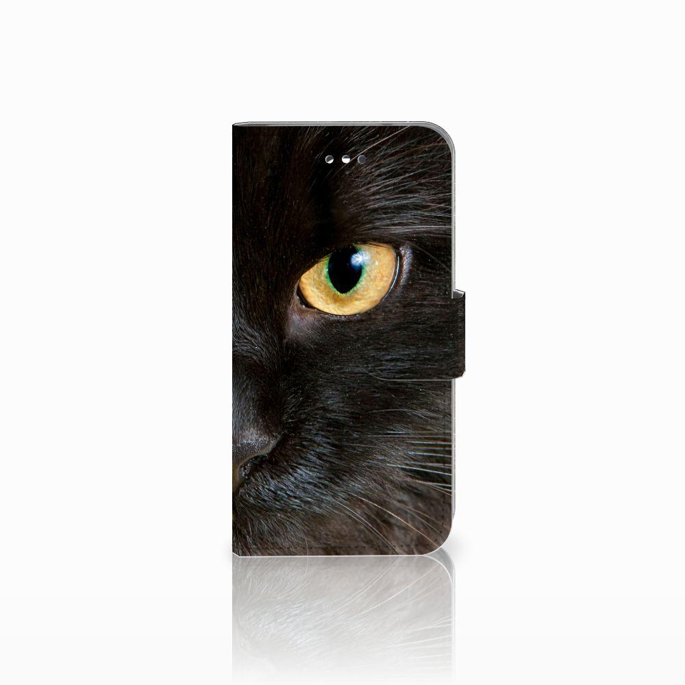 LG X Screen Uniek Boekhoesje Zwarte Kat