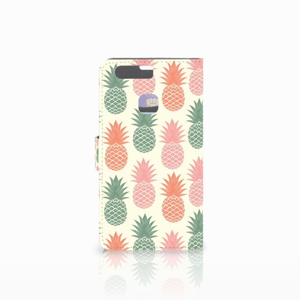Huawei P9 Plus Book Cover Ananas